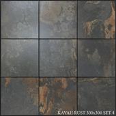 Yurtbay Seramik Kayah Rust 300x300 Set 4