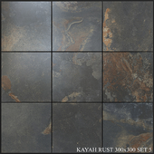 Yurtbay Seramik Kayah Rust 300x300 Set 5