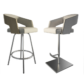 Jolly Leather Beige Stools