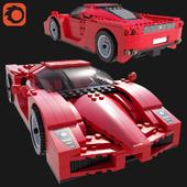 LEGO Enzo Ferrari 02