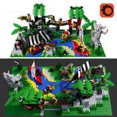 LEGO Enchanted Island