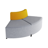 BEND CORNER sofa by actiu
