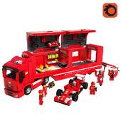 LEGO F14 T & Scuderia Ferrari Truck