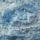 Blue italian marble