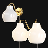 Louis Poulsen: Wall Lamps - VL Ring Crown Wall 1 and 2
