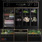 Flower Shop-refrigerated display