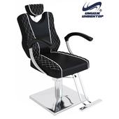 ОМ Парикмахерское кресло «Глория БЛЭК» гидравлическое