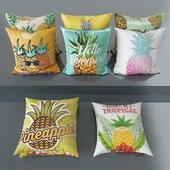 Набор декоративных подушек № 5 Pineapple