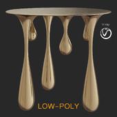 Liquid coffee table (low poly)