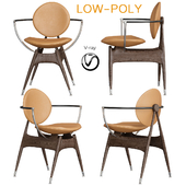 Overgaard & dyrman circle dining chair (low poly)