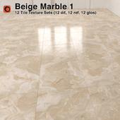 Beige Marble Tiles - 1