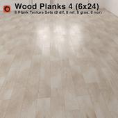 Plank Wood Floor - 4 (6x24)
