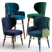 Louis Mid-Century Dining Chairs by Ottiu