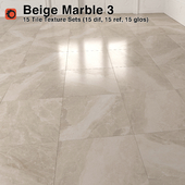 Beige Marble Tiles - 3