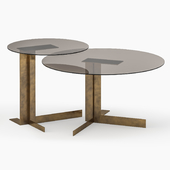 Atlantide coffee & side table