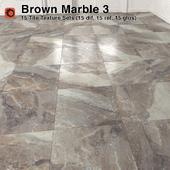 Brown Marble Tiles - 3