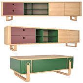 Balder TV Cabinet & coffee table