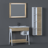 Bathroom Furniture Set - 20 | Troy 1