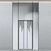 Modern elevator door
