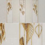 Decorative panel leafs 1