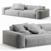 NeoWall 2 Seat Sofa by Living Divani