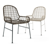Bandera outdoor woven chair