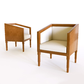 Eileen Gray and Jean Dunand chair