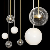 Giopato & Coombes SOFFIO PENDANT SMALL Set