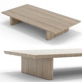 RH Outdoor Baimain coffee table