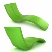 Tropitone Curve Chaise Lounge 3d model
