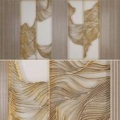 Waves - Metal wall panel 17