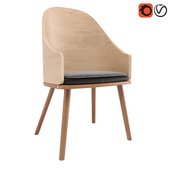 Wooden Carmen Chair