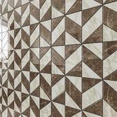 ATLAS CONCORDE MARVEL EDGE Gris-Calacatta Mosaico Cubes Lapp