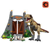 LEGO Jurassic Park_ T rex Rampage