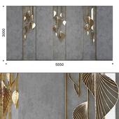Decorative panel leafs 2