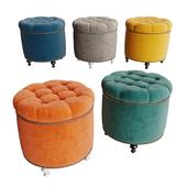 Soft padded stool Grosseto
