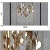 Decorative panel leafs 3