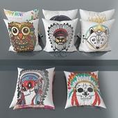 Set of decorative pillows number 7