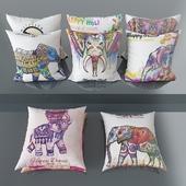 Set of decorative pillows number 8