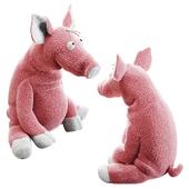 """Мягкая игрушка SIGIKID Pig """"Career Sau"""" от DeZonnewijzer"""