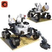 LEGO NASA Mars Science Laboratory Curiosity Rover