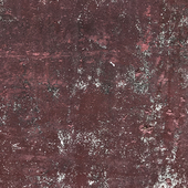 Burgundy art concrete