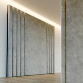 Decorative wall. Soft panel. 71