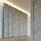 Decorative wall. Soft panel. 73