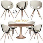 Dining Chair by Tonon STYLEPARK (low poly)