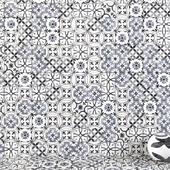 Wall tiles 225 Mix Grey Set 2
