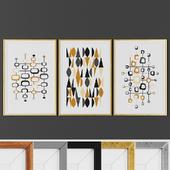 Picture frame set 00017-24