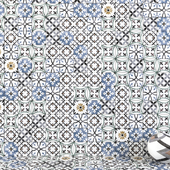 Wall tiles 228 Multicolor Set 2