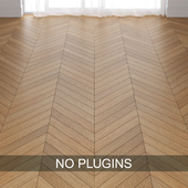 Oak Wood Parquet Floor Tiles vol.013 in 3 types