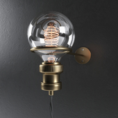 Minimalist wall light